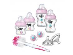 Tommee Tippee BPA-mentes Újszülött cumisüveg szett, Rózsaszín