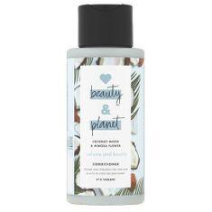 Love Beauty & Planet Delikatna odżywka do włosów z wodą kokosową i kwiatami mimozy ( Volume and Bounty Conditioner) 400 m