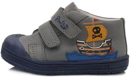Ponte 20 chlapčenská obuv PP120-DA03-1-383A, 23, sivá