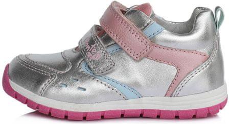 Ponte 20 buty dziewczęce PP220-DA07-1-695 31 srebrne