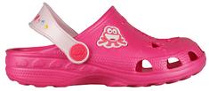 Coqui Dětské pantofle Little Frog Lt. fuchsia/Pale Pink 8701-100-3655