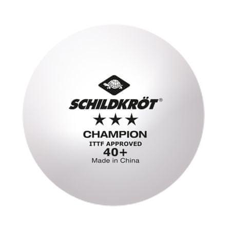 Donic Shildkrot Champion Poly 3* žogice za namizni tenis, 3/1