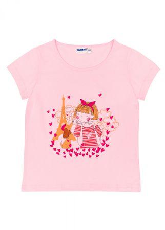 WINKIKI WKG91362 dekliška majica, 110, roza