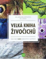 autorů kolektiv: Velká kniha živočichů od jednobuněčných po savce - Více než 1600 barevných ilustrací