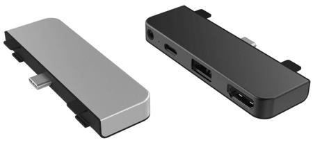 Hyper HyperDrive 4v1 USB-C Hub za iPad Pro HY-HD319E-GRAY, siv