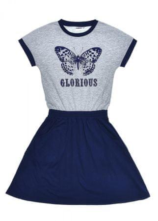 WINKIKI haljina za djevojčice WJG91409, 146, plava