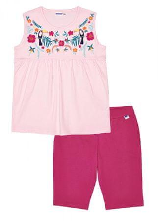 WINKIKI WJG91170 pidžama za djevojčice sa srcima, roza, 128