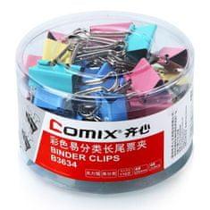 Comix Binder Clip Color 25mm Comix B3634