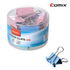 Comix Binder Clip Color 50mm Comix B3631