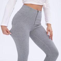 Royal Wolf Dámské legíny Melody Push-Up Leg-Jeans, Grey classic, VP XL