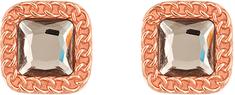 Liu Jo Bronasti uhani s kristalom LJ1283