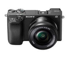 Sony ILCE-6400 + SELP 16-50 fotoaparat z izmenljivim objektivom