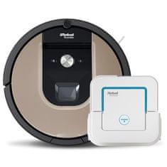 IROBOT set Roomba 976 a Braava 240