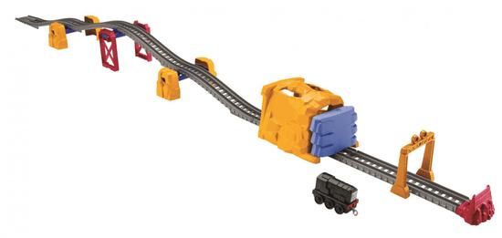 Fisher-Price Diesel a výbuch tunela - Herný set