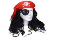 Wiky Parochňa pirát s doplnkami