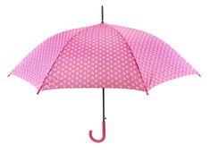 Blooming Brollies Dámský holový vystřelovací deštník Mini Hearts 12034B