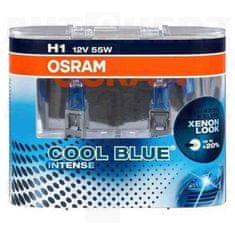Osram Autožárovky 12V H1 55W - Osram Cool Blue Xenon Effect 4200K 2ks