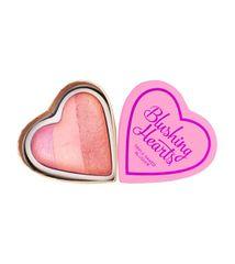 Makeup Revolution Srčna rdečilo strastno srce Ljubim ličila (Hearts Blusher Candy Queen of Hearts) 10 g