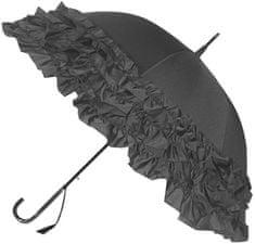 Blooming Brollies Damski parasol do strzelania Grey Trip le Frill Frill BCS2FGR