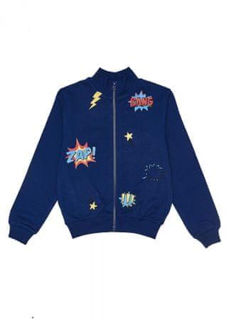 WINKIKI sweter chłopięcy WKB91325 98 niebieski