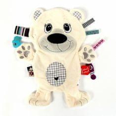 Label-Label Ľadový medveď, biela