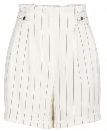 NAFNAF női rövidnadrág MENB5 38 krémszínű