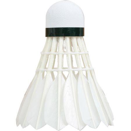 Talbot Torro Hit 750 set žogic za badminton, perje, bele, 12 kosov