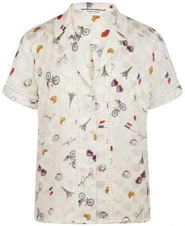 NAFNAF ženska košulja MENC35, 36, kremasta
