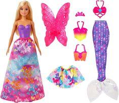 Mattel Barbie baba és mesés kiegészítők