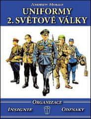 Andrew Mollo: Uniformy 2. světové války - Organizace, insignie, odznaky