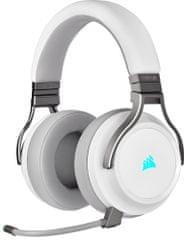 Corsair Virtuoso RGB Wireless, fehér (CA-9011186-EU)