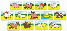 Teddies Memória játék, Első Állataim, 24 db-os