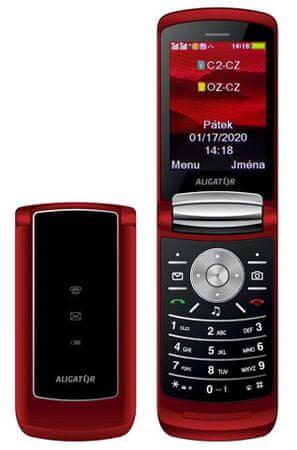 Aligator DV800 Dual SIM, Red