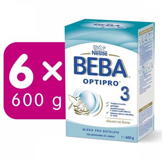BEBA OPTIPRO 3 (6x600 g)