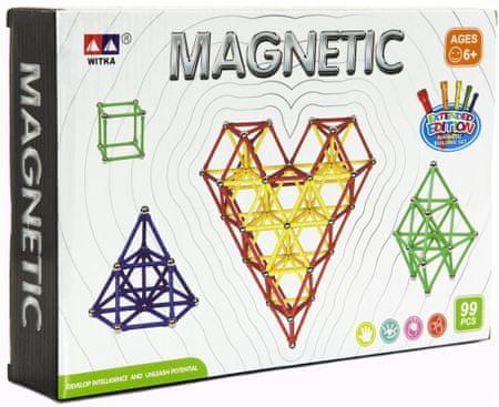 Teddies zestaw magnetyczny, 99 szt.