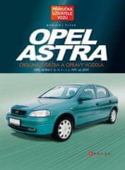 Bořivoj Plšek: Opel Astra - Obsluha, údržba a opravy vozidla (Opel Astra F, G, H, J - r. v. 1991 až 2009)