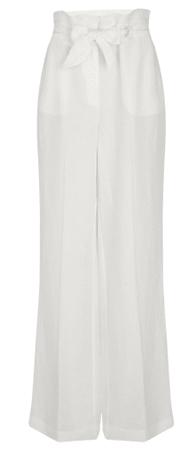 NAFNAF ženske hlače MENP2, 40, bele