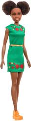 Mattel Barbie Nikki zöld ruhában