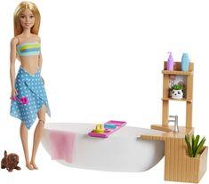 Mattel Barbie Wellness bábika v kúpeľoch herný set