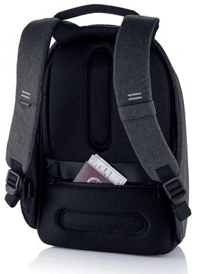 nahrbtnik XD Design Varnostni nahrbtnik Bobby Hero Majhni, črn (P705.701) skriti žepi varnostni žepi RFID