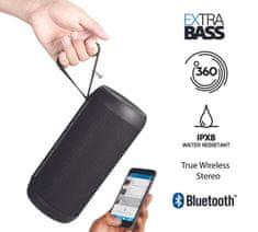 Promate brezžični prenosni stereo zvočnik Silox