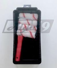 Alda9 Mini Set Váleček 4ks + Vanička 100mm Červená/Černá - 100 mm