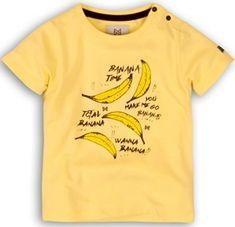KokoNoko chlapčenské tričko s banánmi