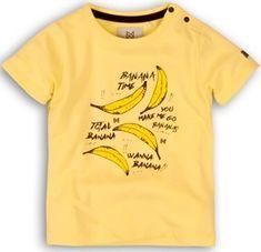 KokoNoko chlapecké tričko s banány