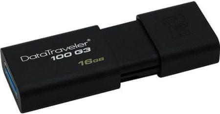 Kingston Pamięć flash USB 3.1 DT100 G3 16 GB