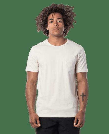 Rip Curl pánske tričko Eco Craft S/S Tee XXL smotanová