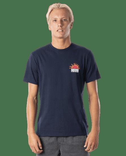 Rip Curl pánske tričko Grateful Tee M tmavomodré
