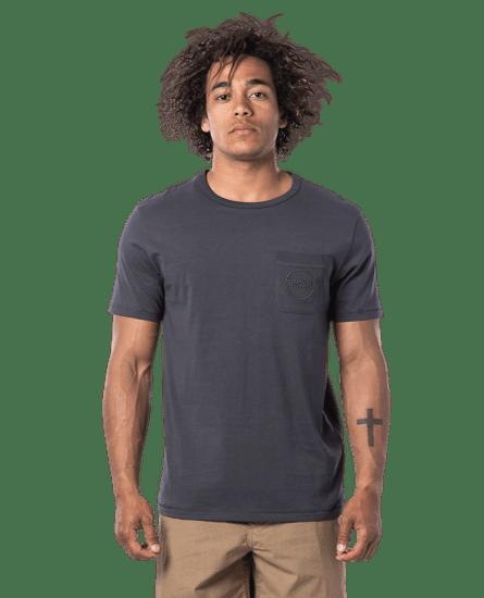 Rip Curl pánske tričko Eco Craft S/S Tee XXL tmavo šedá