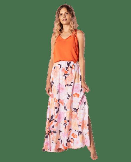 Rip Curl dámske šaty Island Long Dress S ružové