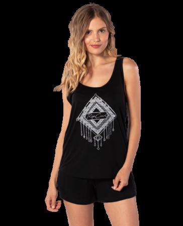 Rip Curl ženska majica brez rokavov Bollywood Singlet, S, črna